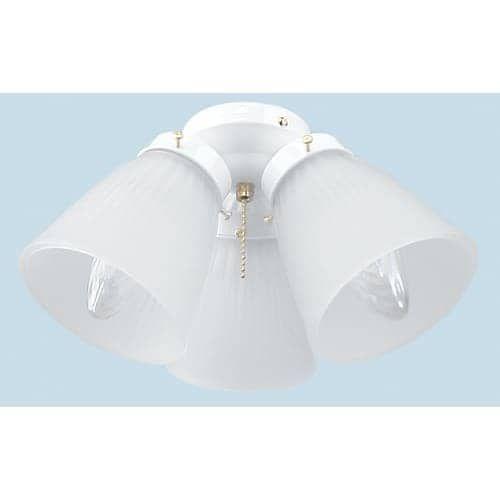 Ellington Fans ECK758 3 Light Ceiling Fan Light Kit (Bronze Finish)