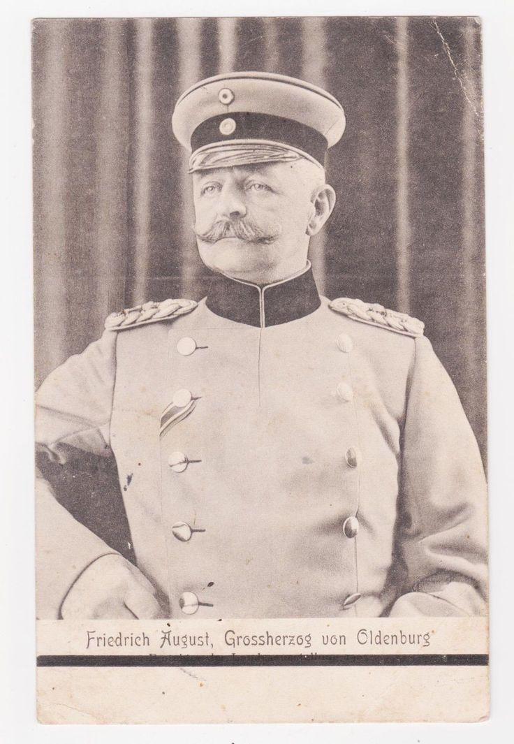 Simple Royalty Germany Friedrich August II Grand Duke of Oldenburg Used Oldenburg