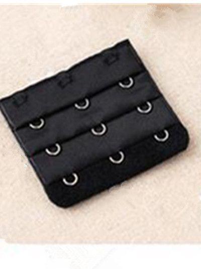 2 Rows 2 Hooks Bra Extenders Nylon Clasp Strap Women 1 Pcs Bra Extender 4 Colors Intimates Accessories