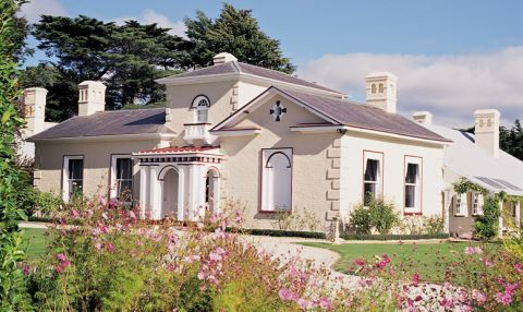 Enjoy the delights of Woolmers Estate and National Rose Garden.