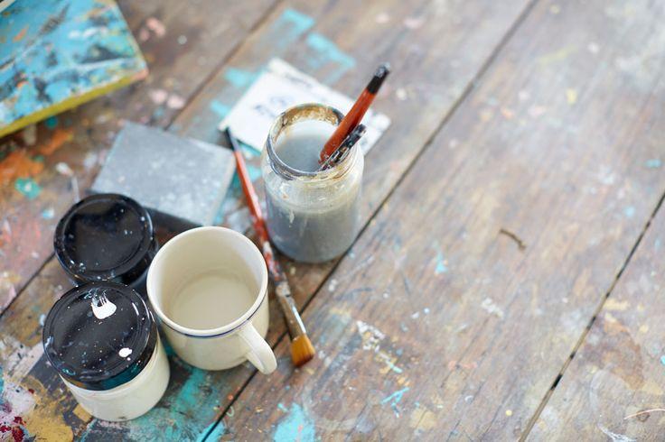 Pop & Scott Paint Studio by Clare Plueckhahn