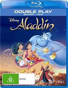 Aladdin (Blu-ray/ Dvd) $20 @jbhifionline.com.au