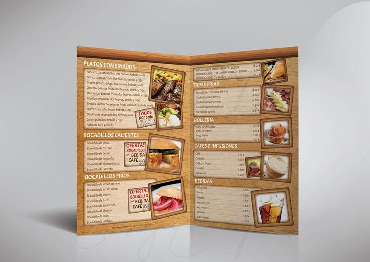 Menu Design for an Restaurant