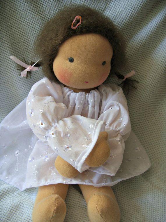 Muñeca Waldorf reservada para felicidad por OhMyDolling en Etsy
