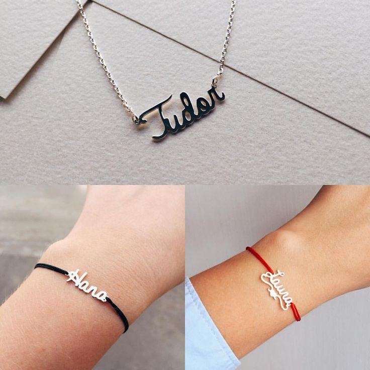Lovebird transformă dorințe în bijuterii personalizate. ❤️ #lovebirdbijuterii #lovebird #namenecklace necklace, name jewelry, bijiterii, bratara pe snur