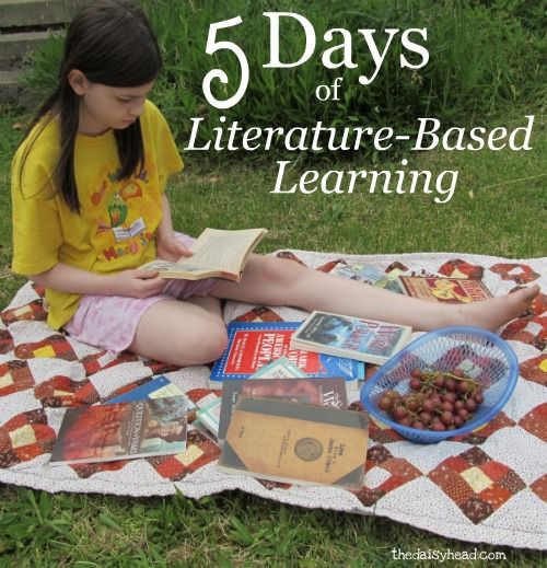 5 Day series discussing Lit-based learning (e.g. Sonlight), will go back and read at a later date for 2014-2015 planning.
