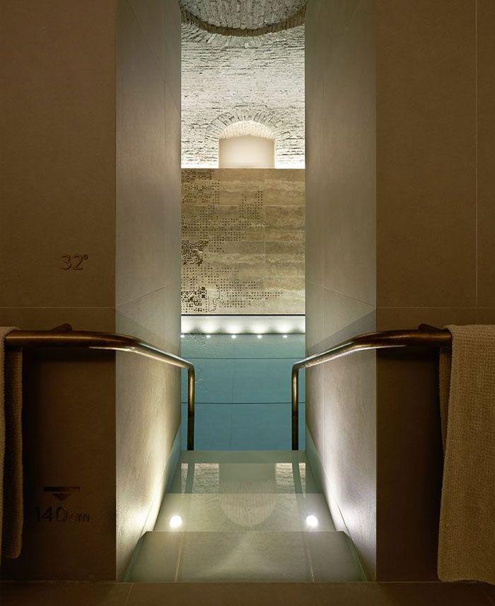 Four Seasons   Spa Interior Design by Patricia Urquiola four seasons luxurios pool