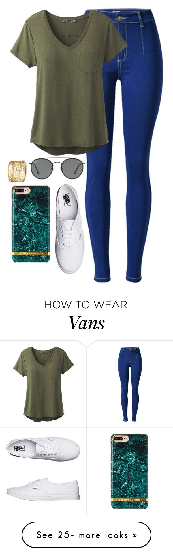 """""""Ask me random questions✨"""" by thekaylabella on Polyvore featuring prAna, Vans and Ray-Ban"""