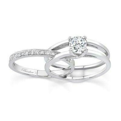 Simple... hard to find beautiful simplicity in wedding band sets