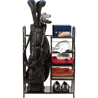 Golf Bag Organizer Open Sided Rack System