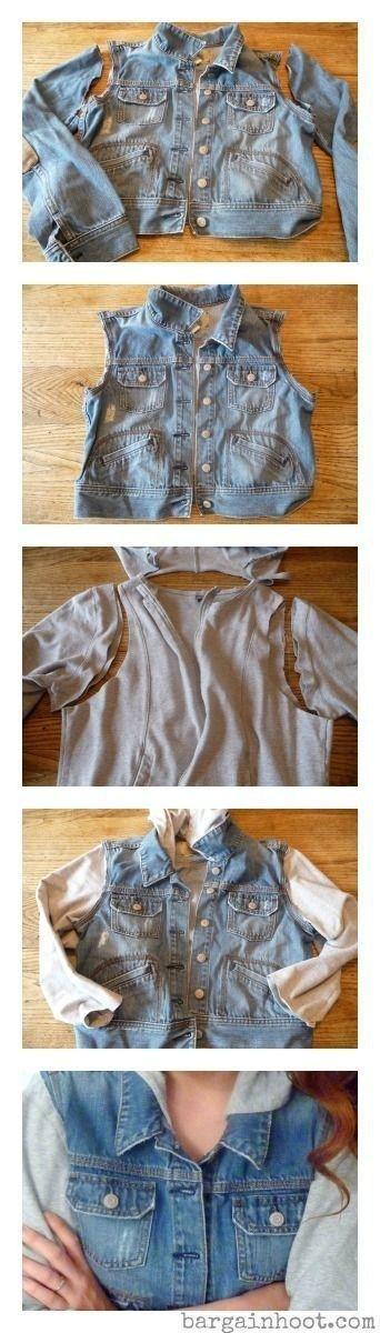 12 Kreative Möglichkeiten, wie Sie Ihre alte Kleidung umgestalten und wiederver…