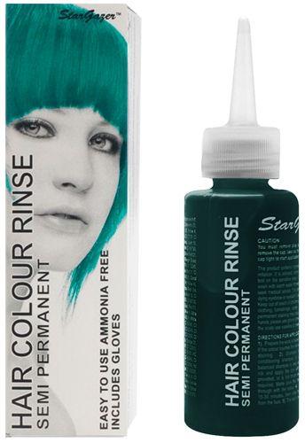 Coloration STARGAZER - UV Turquoise - #Teinture Verte #Cheveux Semi Permanente Pour une #Coiffure #Rock #Punk http://rockagogo.com