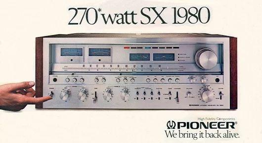 PIONEER SX 1980. www.1001hifi.com