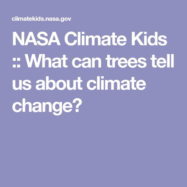 Resource 3 - This resource was developed by NASA's Jet Propulsion Laboratory and explains how trees and tree rings can tell scientists about what the climate has been in the past.  It also discusses the difference between weather and climate.  This resource could be used as an extension activity for students who want to know more about how scientist reach their conclusions regarding climate change.
