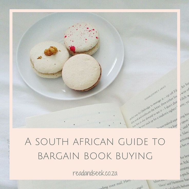A South African Guide to Bargain Book Buying: where and how to find amazing deals.
