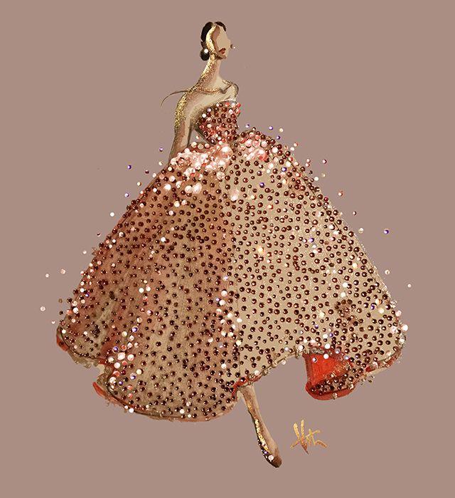 Paper Fashion - Oscar de la Renta
