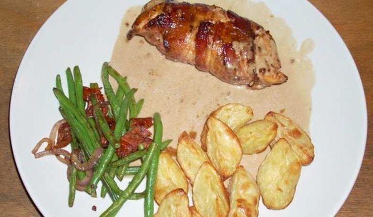 Kyckling i balsamsås