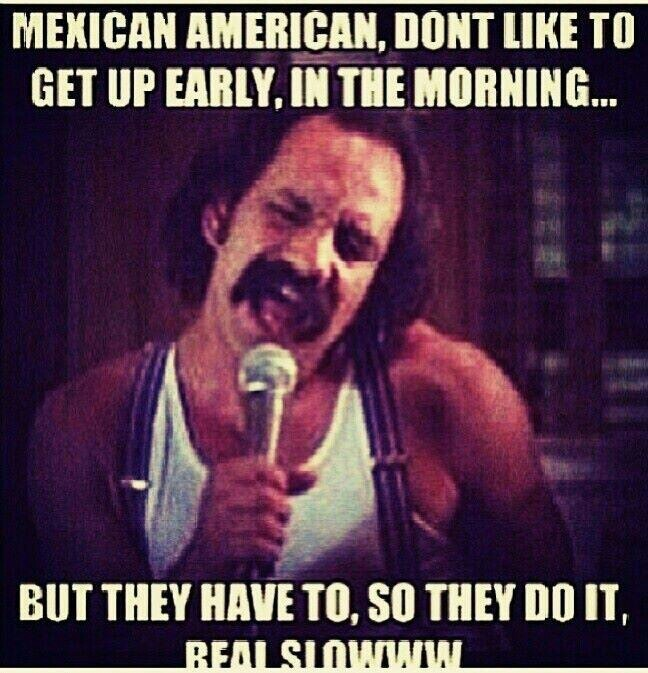 Mexican Americans... still hilarious no matter how many times i hear this song