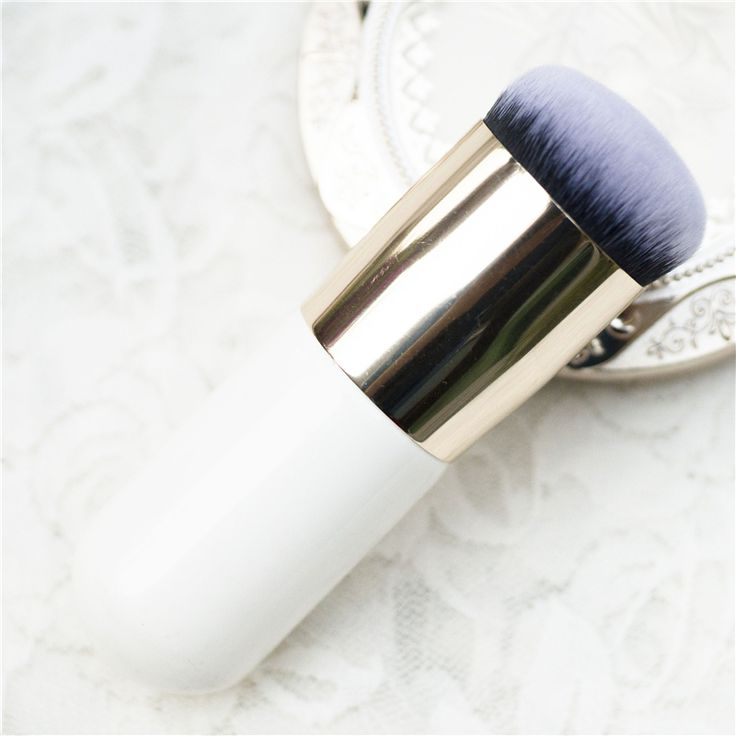 Hot paffuto molo fondazione make up spazzole flat il portatile BB cream spazzola di trucco Professionale strumenti di Bellezza maquiagem S400