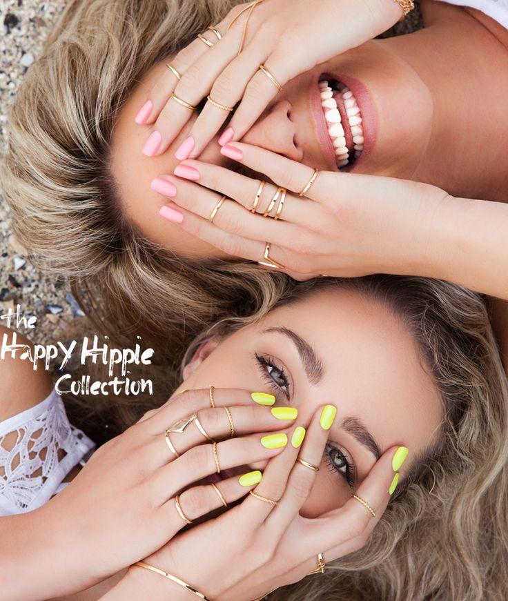 Bio Sculpture Gel Happy Hippie 2015 Nail Collection