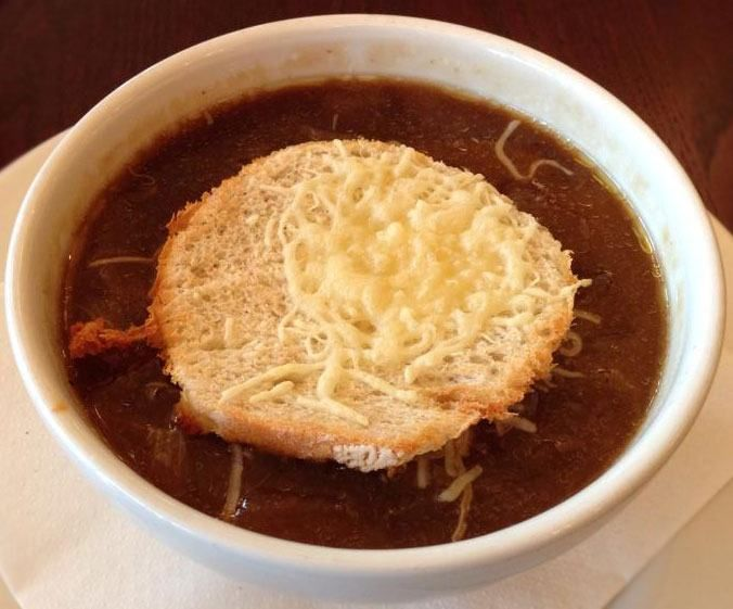 Simple and Rich French Onion Soup without wine. French onion soup has been famous from the Roman Era. This soup is considered as the poor people because onions are easy to grow and cheap. But with the modern times, it became renowned in rich families as well. http://www.safarecipes.com/french-onion-soup-recipe-without-wine/