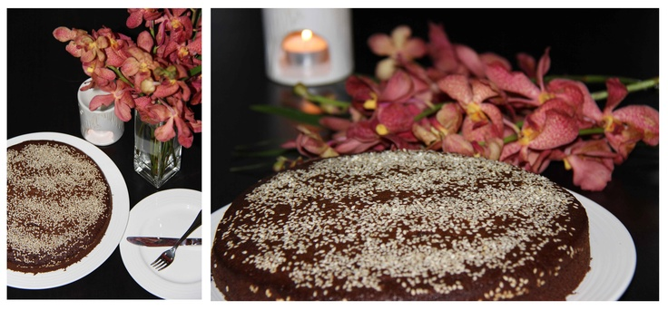 Sesame Chocolate Cake