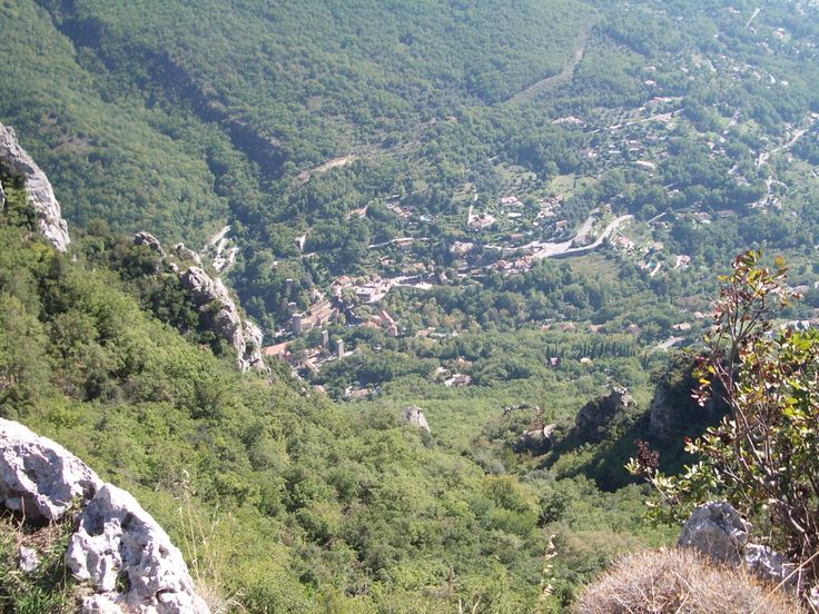 View from Gourdon