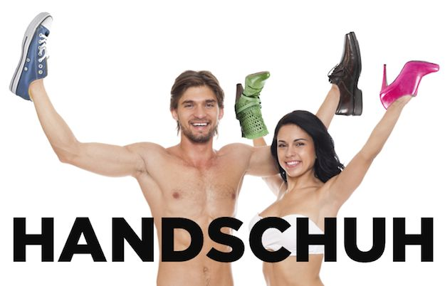 "Gloves are ""Handschuh"" in German, which literally means ""hand shoes."" 