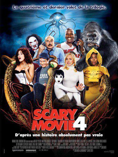 Scary Movie 4 (2006) Regarder Scary Movie 4 (2006) en ligne VF et VOSTFR. Synopsis: Cindy Campbell est toujours terriblement blonde. Mais bourrée de bonnes intentions. �...