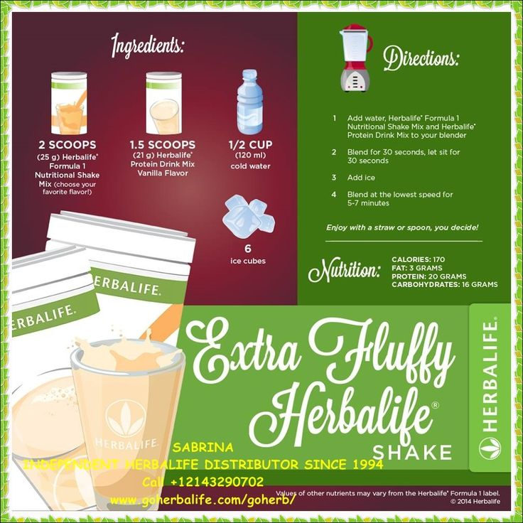 Enjoy your Herbalife Formula 1 Protein Healthy Meal Shake! Try a different recipe every day! HIGH in NUTRIENTS and LOW in CALORIES! So Yummy and healthy! Get yours today! SABRINA INDEPENDENT HERBALIFE DISTRIBUTOR SINCE 1994 Helping you enjoy a healthy, active and successful life! Empowering You To Change https://www.goherbalife.com/goherb/ Call USA: +12143290702 Italia: +393462452282 Deutschland: +4952337093696 Add me at Facebook: http://sasafb.fitmy.biz