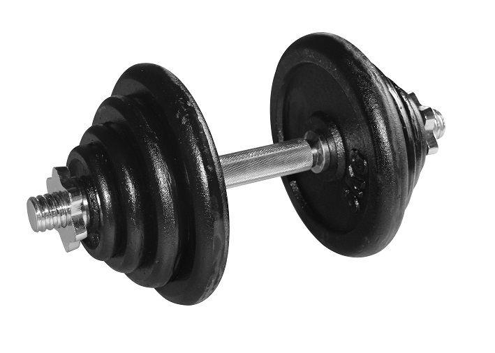 Dumbellset RS 20 KG  Description: DeDumbellset RS 20 kgis ideaal voor een gevarieerde training. Omdat je kunt trainen met een gewicht van 2 tot 20 kg bepaal je zelf de intensiteit van je training ook zorgt het ervoor dat je al je spiergroepen met een aangepast gewicht kunt trainen. Daarnaast biedt deDumbellset RS 20 kgde mogelijkheid om je training langzaam op te bouwen. Dit maakt deze set geschikt voor zowel de beginnende als de gevorderde trainer. De set is gemaakt van een hoge kwaliteit…