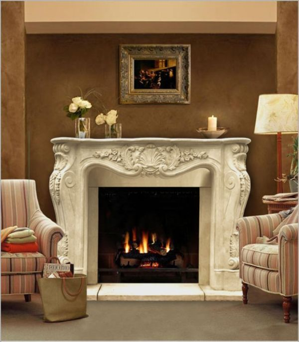 62 quot  chateau series louis xiii cast stone fireplace mantel diy corner fireplace mantel kit