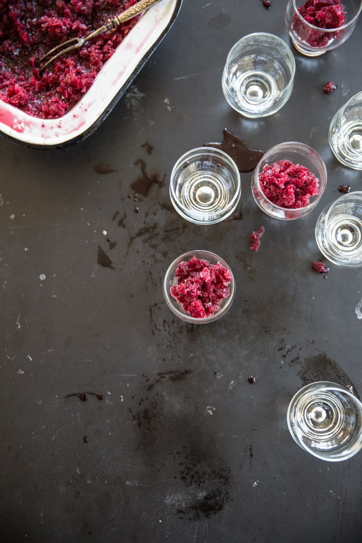 Blood Orange Granita - Cook Republic
