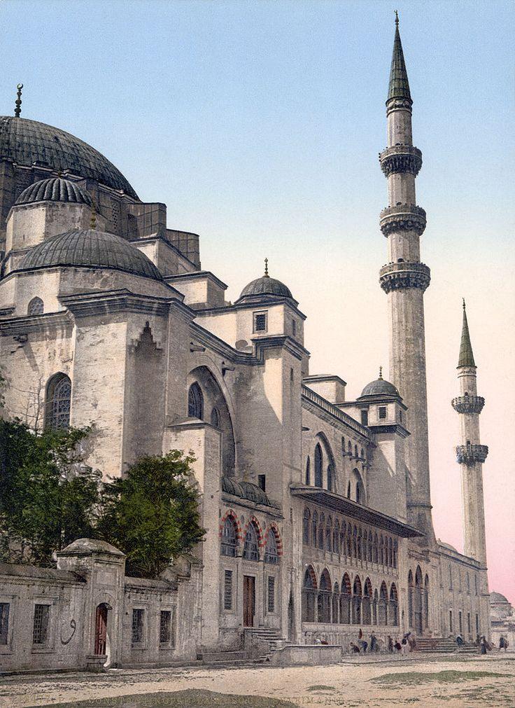 Süleymaniye Mosque, Istanbul - Süleymaniye Camii - Vikipedi-Süleymaniye Camii…
