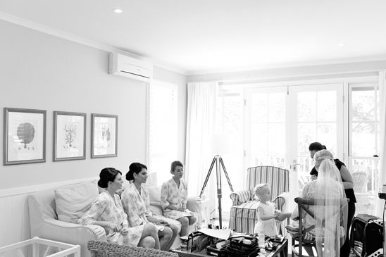 Girls getting ready at Bells for wedding | Wedding Photography on the Central Coast by Impact Images www.impact-images.com.au #ImpactImagesNSW
