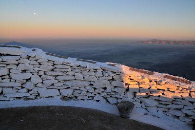 full moon in cyclades,Greece