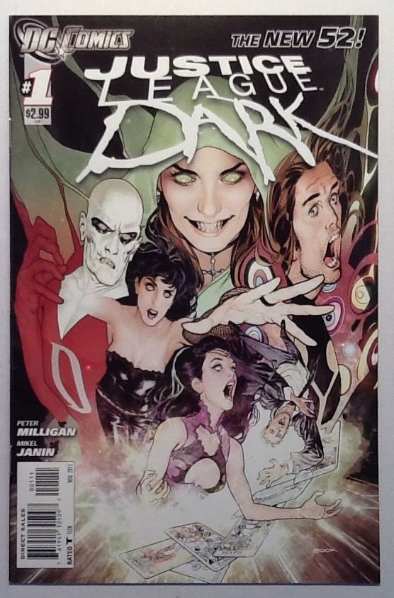 Justice League Dark #1 / DC Comics 2011 NM / Animated Movie Soon / SOLD!!!