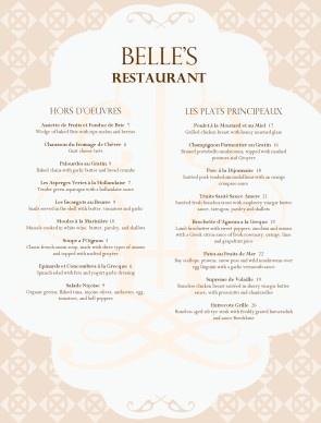a french menu template church ideas umw events bridal shower