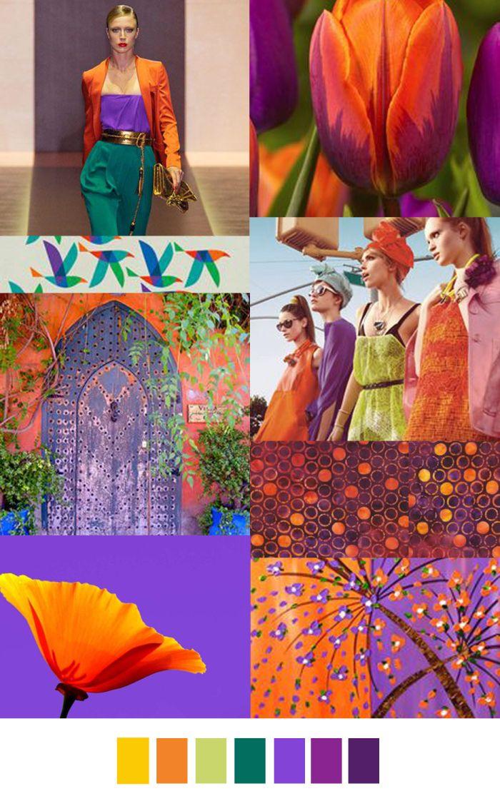 Ideia painel de cores