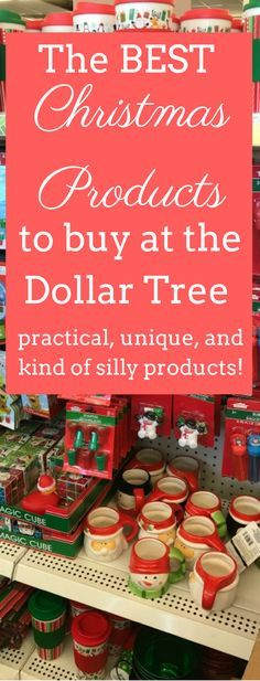 THe Dollar Tree is a GREAT place for buying Christmas decor, gifts, and more on a budget. Here are the best christmas products to buy at the Dollar Tree that will make your holiday just a little more special. via @clarkscondensed