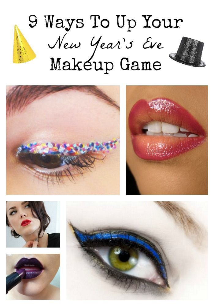 Get a look that's all glitz and glimmer with these New Year's Eve Makeup ideas that will show off your inner sparkle!