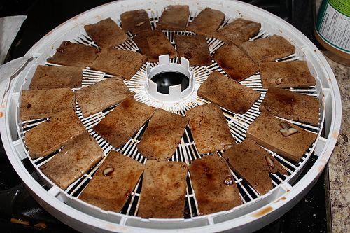 Tofu Jerky  Dehydrator Recipes 022