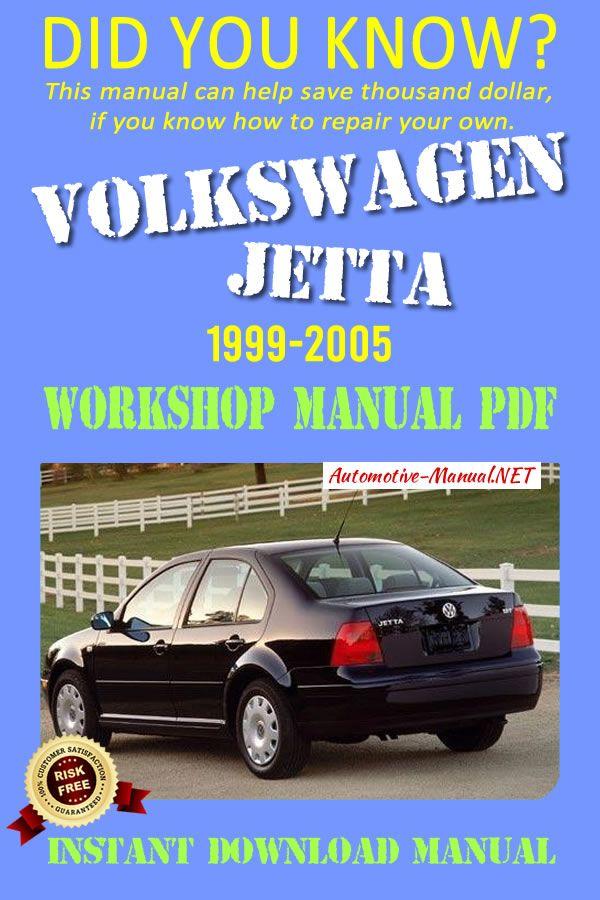 Download Volkswagen Jetta 1999 2005 Workshop Manual Pdf Volkswagen Jetta Volkswagen Vw Jetta