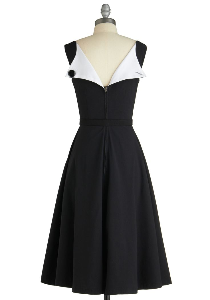 back of the dress: Black Dresses, Cute Dresses, Retro Vintage Dresses, Black Modcloth, Mod Retro, Wear, 129 Modcloth, Modcloth Com, 129 99
