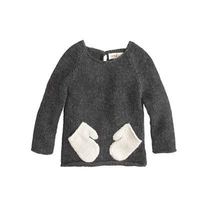 Baby Oeuf® hug me sweater | J. Crew ------ heck with the kids ! I want one for me !