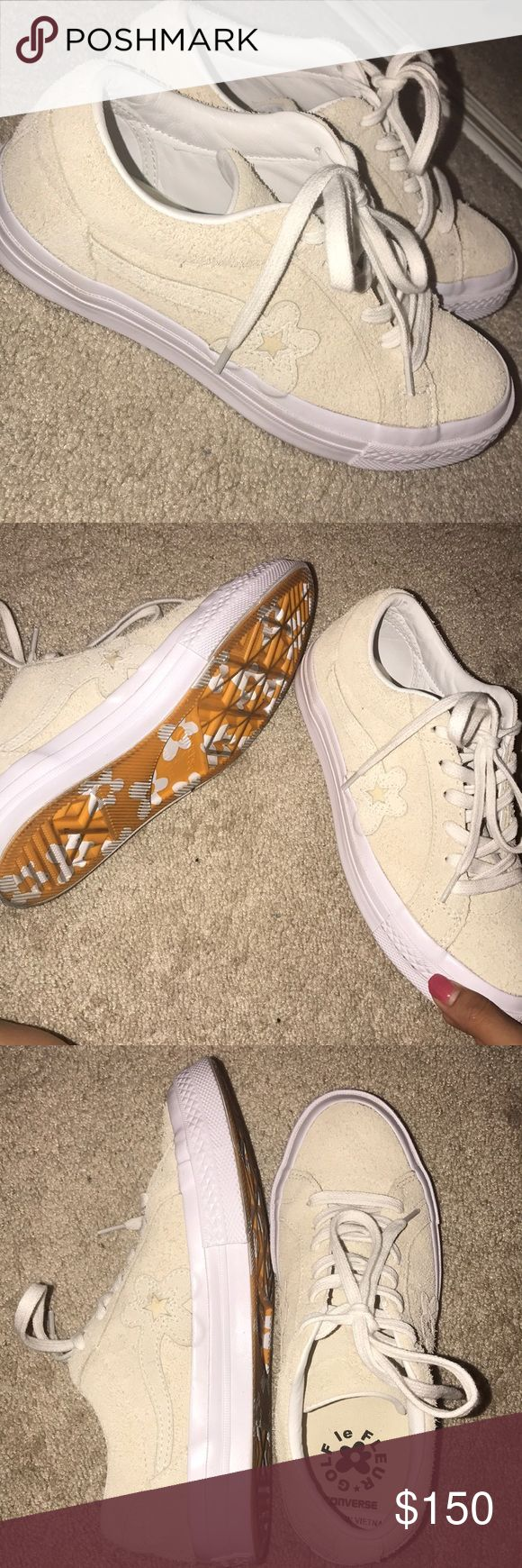 Golf Le Fleur shoes Tan Size: 6 in women; 4 in men. Worn twice; look brand new. Comes with box & golf Le fleur shoe bag GOLF Shoes Sneakers