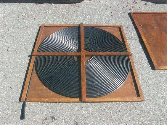 Solar pool heater hook up