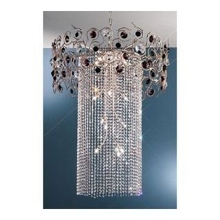 """Shop for Classic Lighting 10035-SF 36"""" Crystal Chandelier from the Foresta Colorita Collection. Get free shipping at Overstock.com - Your Online Home Decor Outlet Store! Get 5% in rewards with Club O! - 23976687"""