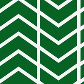 chevron stripe in Kelly Green fabric by ninaribena, click to purchase