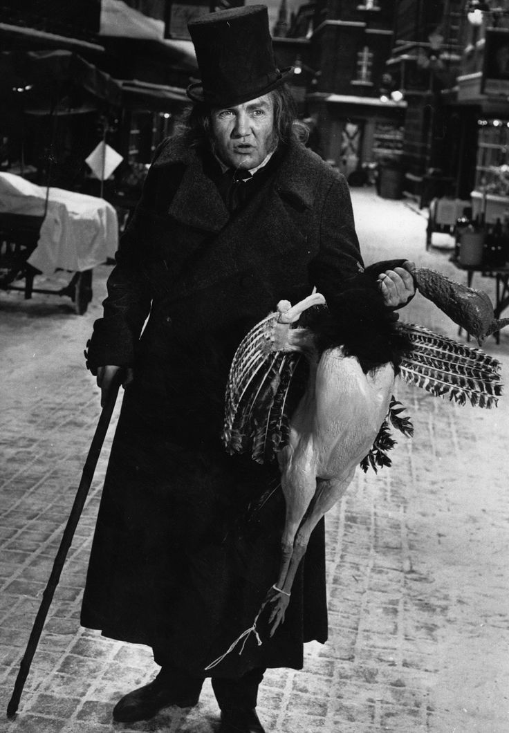 Albert Finney in the musical film A Christmas Carol, 1973. brilliant Scrooge!!